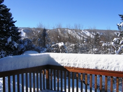 View of Mountain From Deck