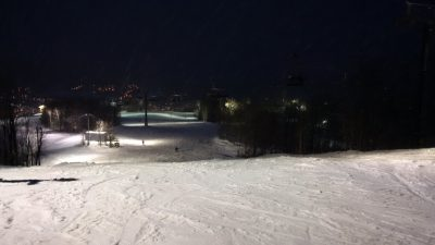 Night skiing/snowboard starts December December 13th, 2018